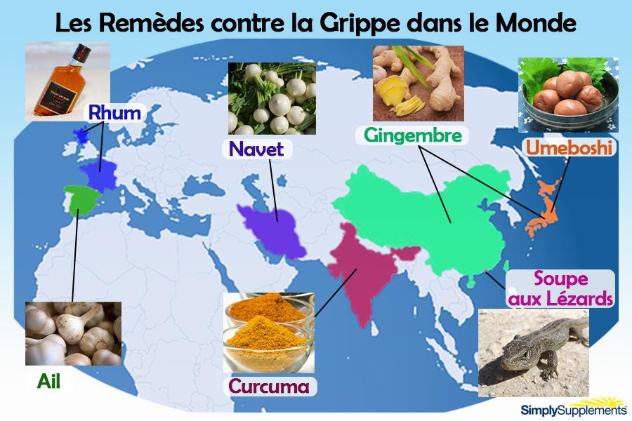 les-remedes-contre-la-grippe-dans-le-monde