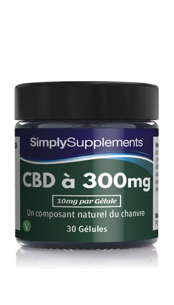 Gélules de CBD 300mg (10mg par dose)