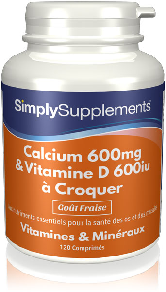 Calcium & Vitamine D3 à Croquer