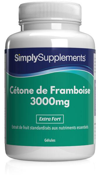 Cétone de Framboise 3000mg