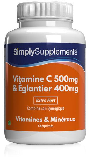 Vitamine C 500mg & Eglantier 400mg