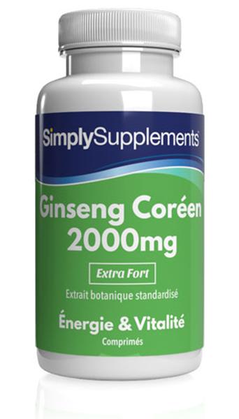 Ginseng Coréen 2000mg
