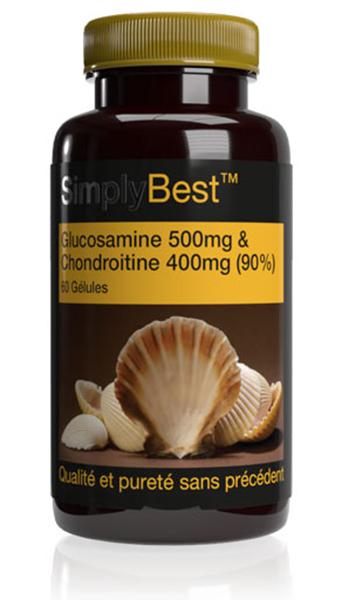 Glucosamine 500mg & Chondroïtrine 400mg (90%) SB