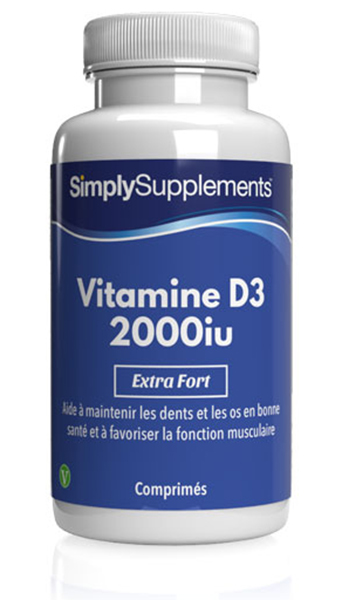 Vitamine D3 2000iu