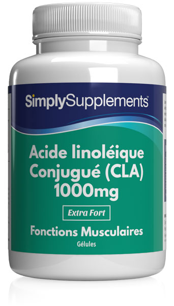 Acide linoléique Conjugué (CLA) 1000mg
