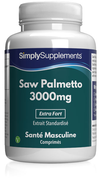 Saw Palmetto 3000mg