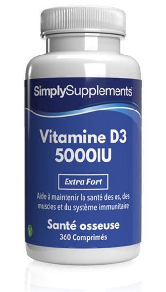 Vitamine D3 5000iu