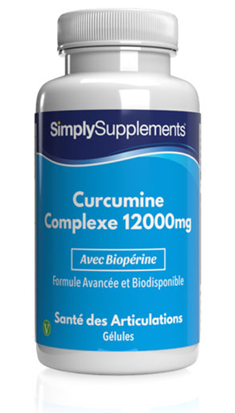 Curcumine 12000mg C3 Complexe
