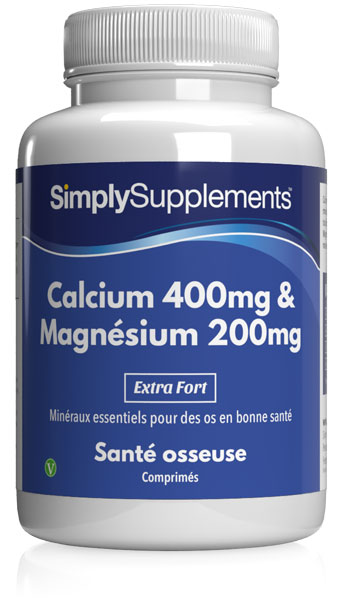 Calcium 400mg et Magnésium 200mg
