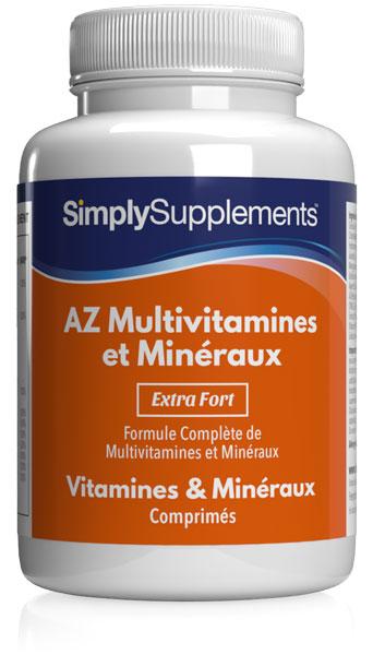 AZ Multivitamines et Minéraux