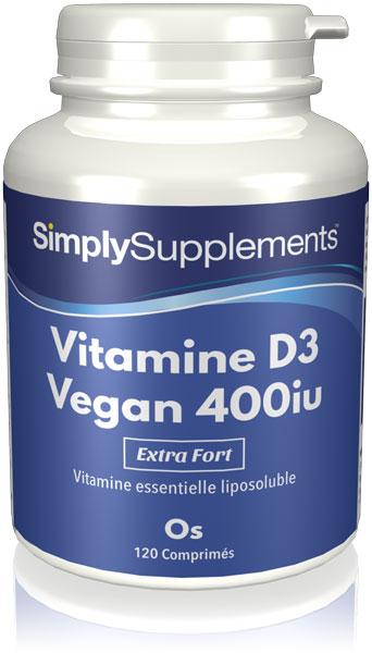 Vitamine D3 Végane 400 iu