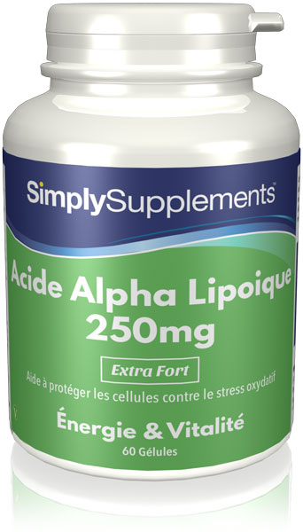 Acide Alpha Lipoique 250mg