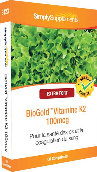 BioGold Vitamine K2 100µg