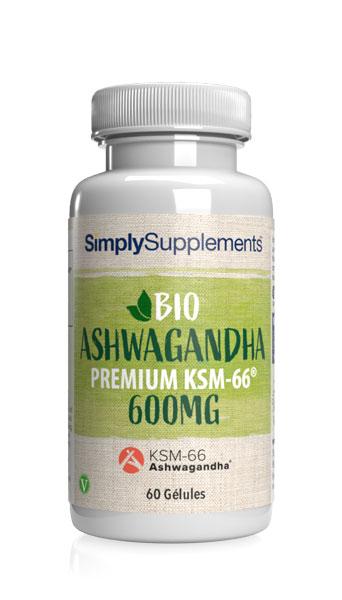 Biologique - Ashwagandha KSM-66 600mg