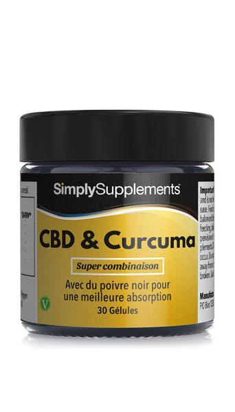 CBD & Curcuma avec Poivre Noir