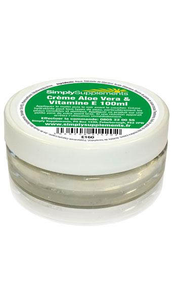 Crème Aloe Vera et Vitamine E