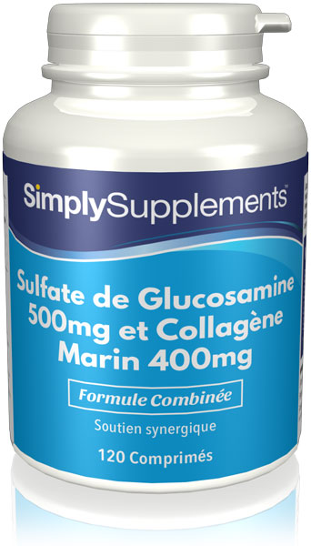 Glucosamine 500mg & Collagène Marin 400mg