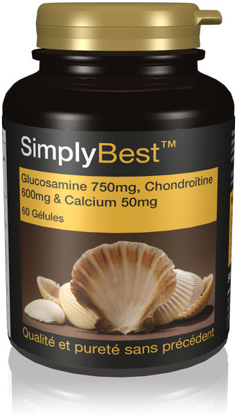 Glucosamine 700mg, Chondroïtine 600mg & Calcium 60mg