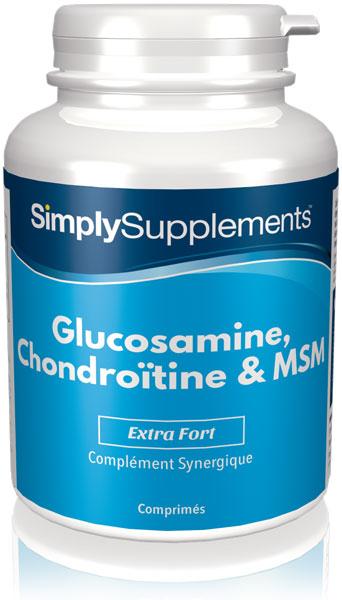 Glucosamine, Chondroïtine & MSM