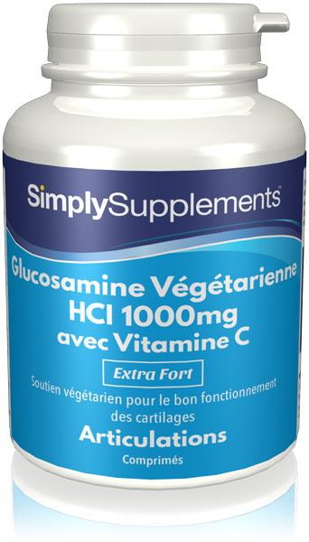 Glucosamine HCl végétarienne 1000mg