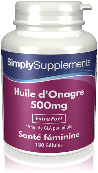 Huile d'Onagre 500mg