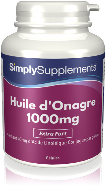 Huile d'Onagre 1000mg