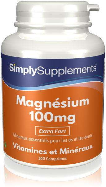 Magnésium 100mg