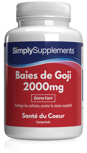 Baies de Goji 2000mg