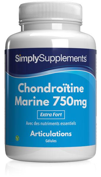 Chondroïtine marine 750mg (100%)
