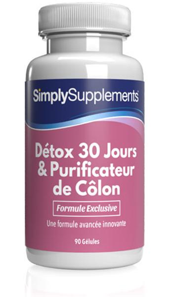 Détox 30 Jours & Purificateur de Côlon