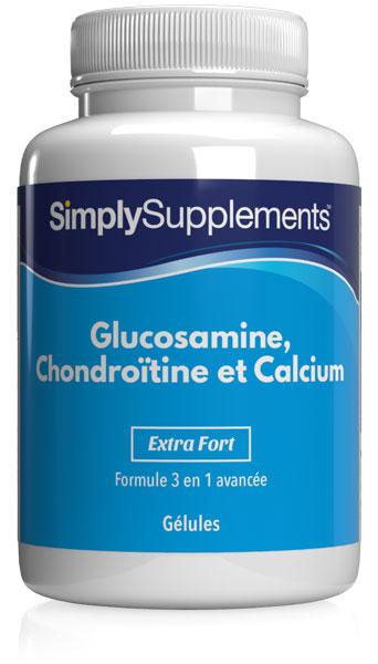 Glucosamine, Chondroïtine & Calcium