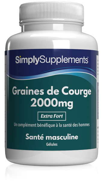 Graines de Courge 2000mg