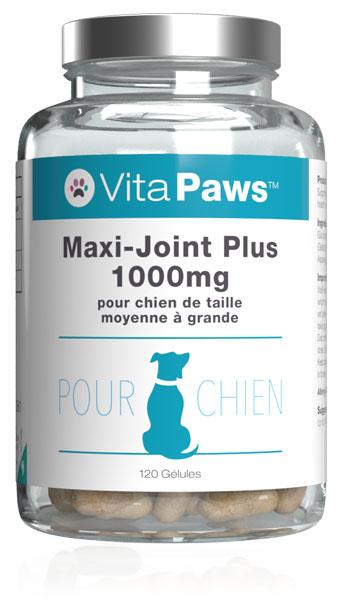 Maxi-Joint Plus 1000mg pour chien de taille moyenne à grande