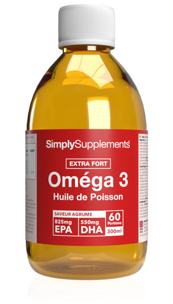 Oméga 3 Huile de Poisson Liquide