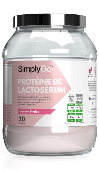 SimplyGo™ Whey - Protéine de Lactosérum en Poudre
