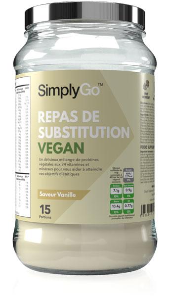 Simply Go Repas de Substitution Vegan
