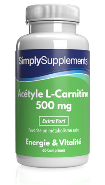 Acétyl L-Carnitine 500mg