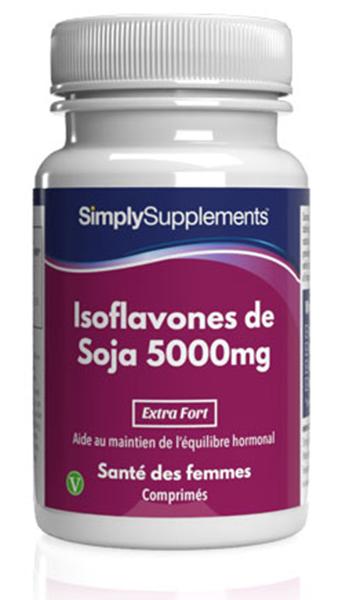 Isoflavones de Soja 5000mg