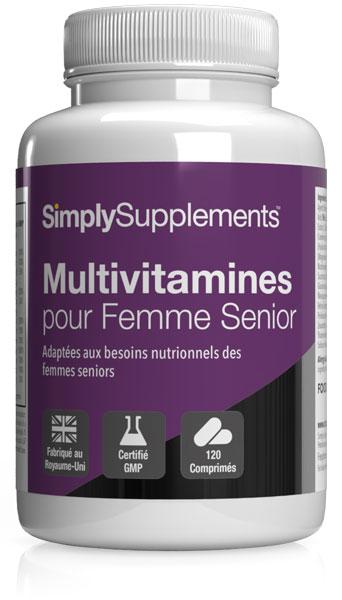 Multivitamines pour femmes - Formule 65 Plus