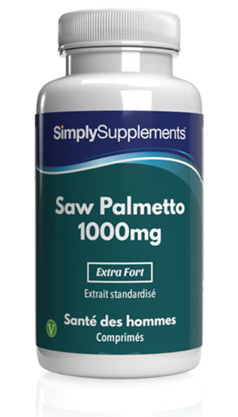Saw Palmetto (Baie de sabal) 1000mg
