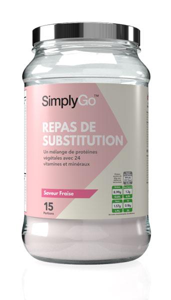 SimplyGo Repas de Substitution