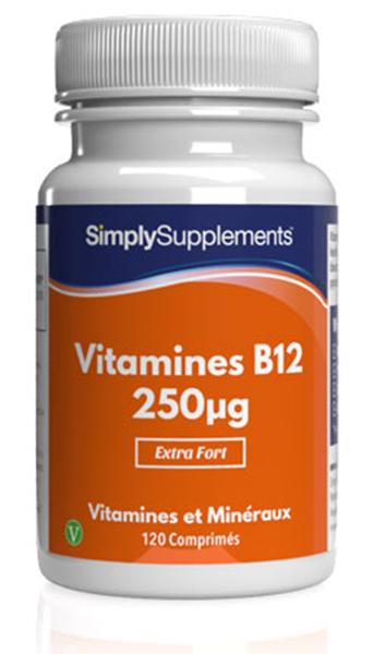 Vitamine B12 250mcg