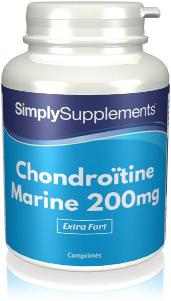 Sulfate de Chondroïtine marine 200mg
