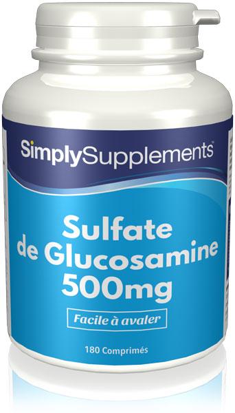 Sulfate de Glucosamine 500mg