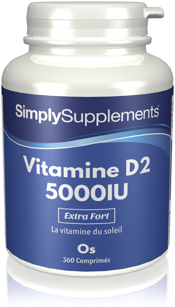 Vitamine D2 5000iu