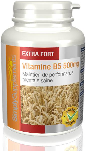 Vitamine B5 500mg