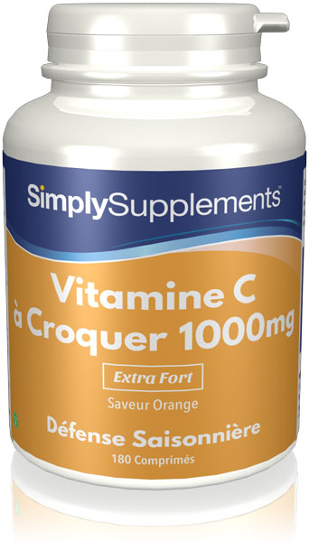 Vitamine C à croquer 1000mg
