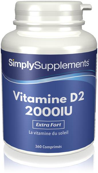 Vitamine D2 2000iu