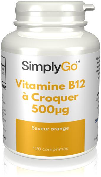 Vitamine B12 à Croquer 500µg