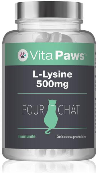 L-Lysine 500mg pour chat